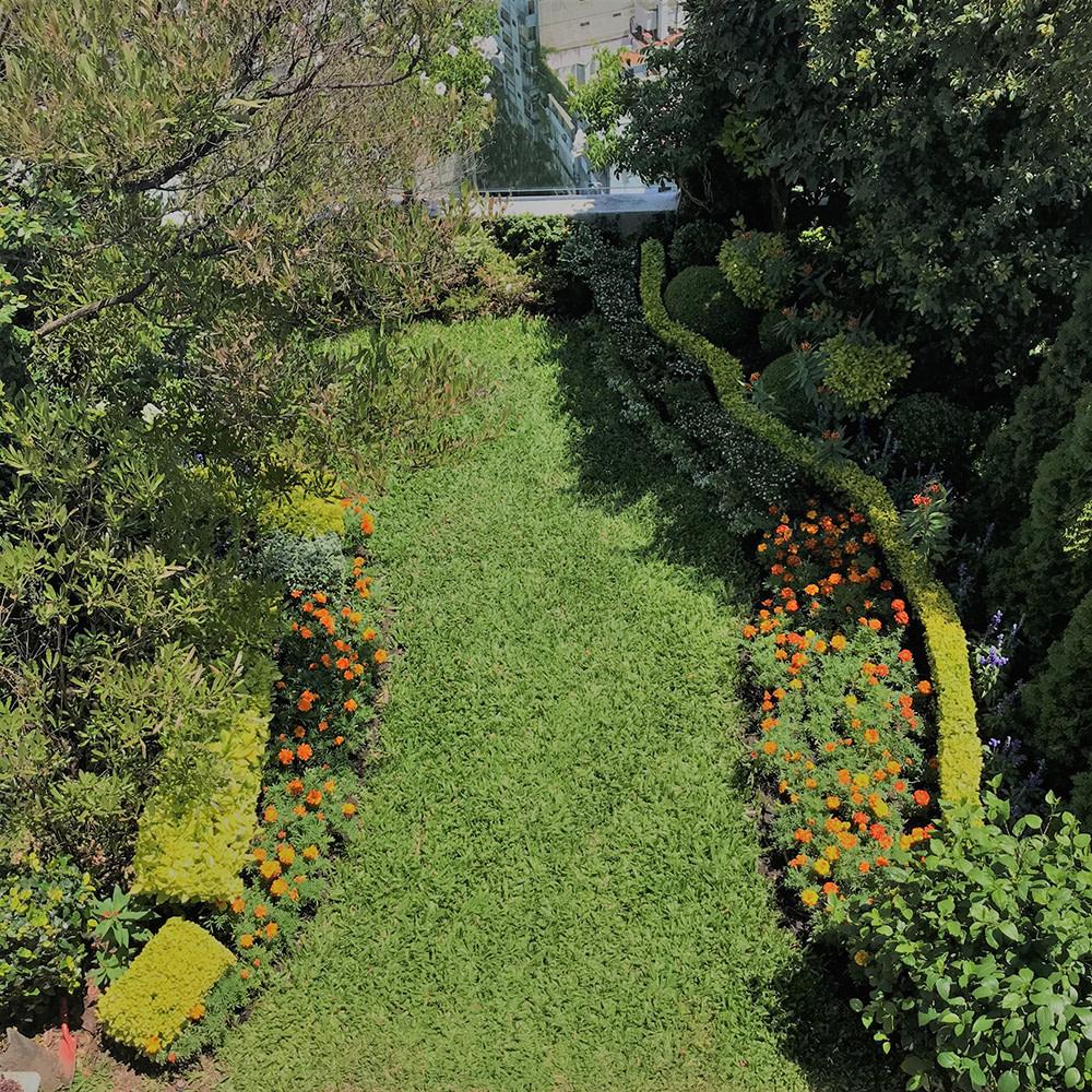 Terraza jardin piso 31 Barrio Recoleta