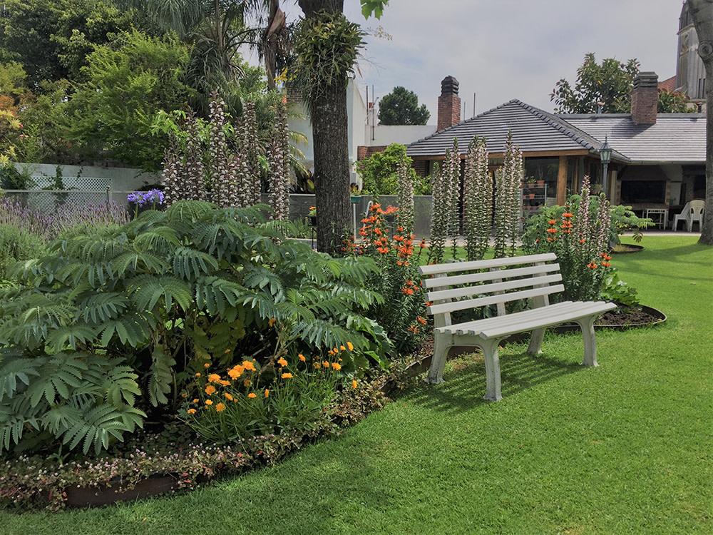 Jardines vista cantero central