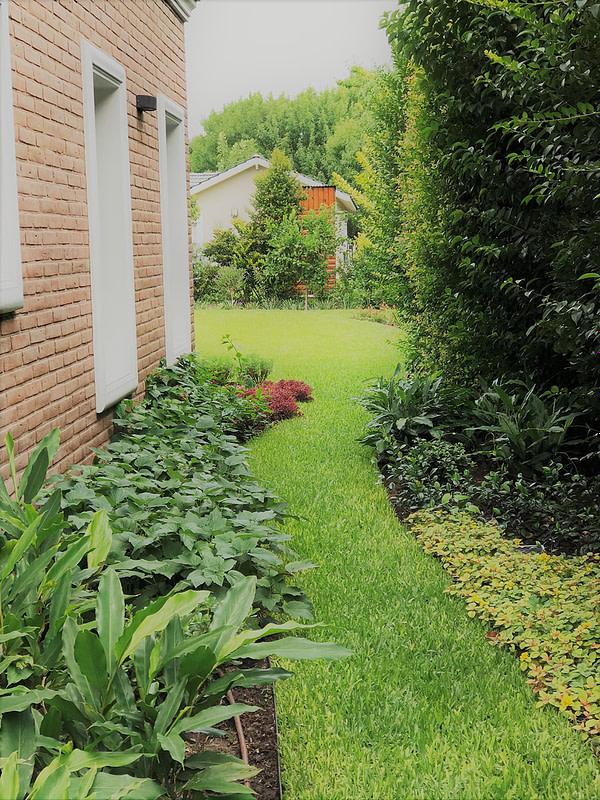 Jardines vista costado derecho